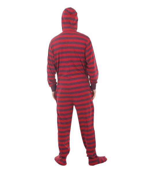 "Grenouillère Rétro ""Stripy Fun"" avec pieds"
